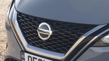 2021 Nissan Qashqai grille