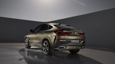 2019 BMW X6 - rear three quarter static studio