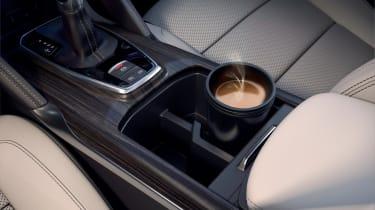Renault Koleos facelift - centre console close-up