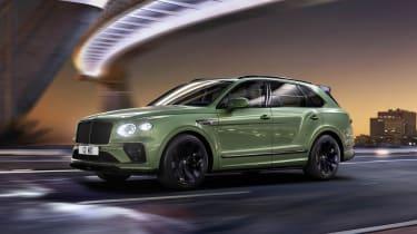 2020 Bentley Bentayga SUV - side tracking