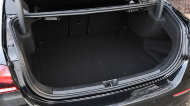 Mercedes-AMG A 35 Saloon boot