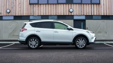 Relaxed cruising rather than hard cornering is the RAV4's forte