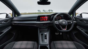 Volkswagen Golf GTI hatchback interior