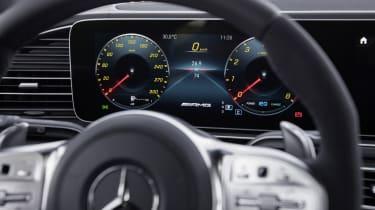 Mercedes-AMG GLS 63 digital instrument cluster