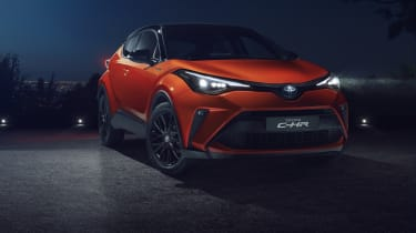 2020 Toyota CH-R Hybrid - front static 3/4