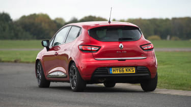 The Clio is fun to drive, but the relatively soft suspension does allow a fair amount of body lean in corners