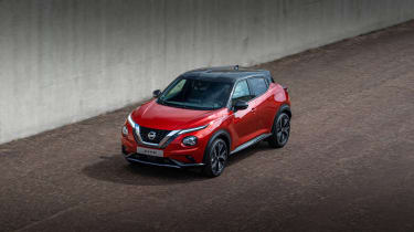 New Nissan Juke top view