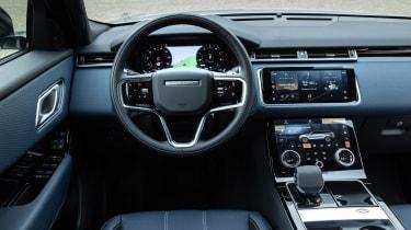 Range Rover Velar SUV interior