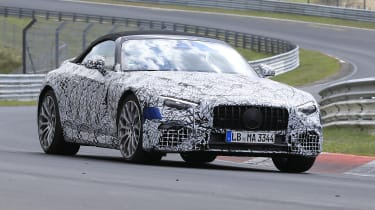 2021 Mercedes SL - front 3/4