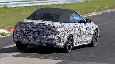 BMW 4 Series Convertible at the Nurburgring - rear view