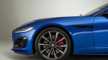 2020 Jaguar F-Type front end - side view