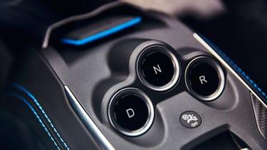 Alpine A110 coupe gear selector
