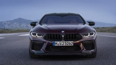 BMW M8 Gran Coupe front end
