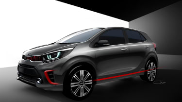 Although these are CGI renderings, the new Kia Picanto looks production ready