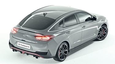 Hyundai i30 Fastback N rear