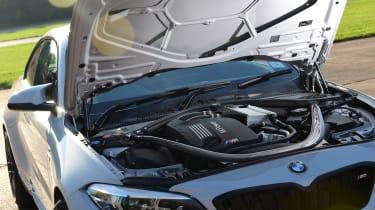 BMW M2 engine bay