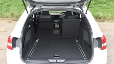 The 308 SW has more boot space than a BMW 5 Series Touring –a car from two classes above