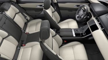 You'll need S trim if you want leather seats, as the Standard car comes with synthetic leather and suede effect fabric