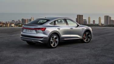 Audi e-tron Sportback rear view