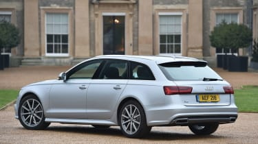 The A6 Avant estate is arguably better-looking than the four-door A6 saloon