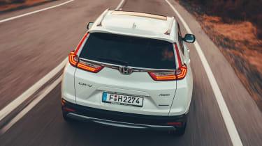 honda cr-v hybrid suv tailgate