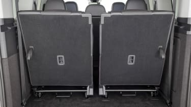 Volkswagen Caddy boot - seats up