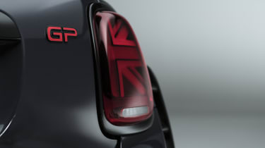 MINI John Cooper Works GP - rear tail light view