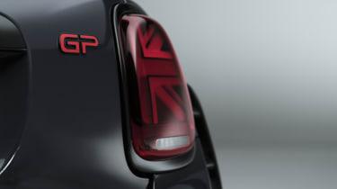 MINI John Cooper Works GP - rear tail light view