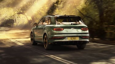 2020 Bentley Bentayga SUV - rear 3/4 tracking