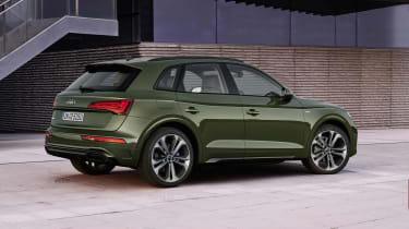 Audi Q5 facelift rear view