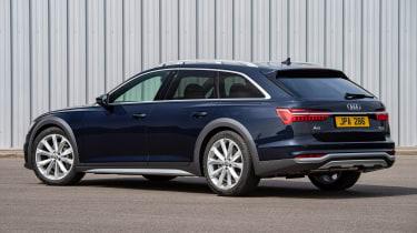 Audi A6 Allroad quattro estate rear 3/4 static