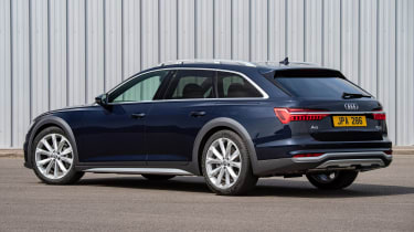 Audi A6 Allroad quattro estate rear 3/4 static