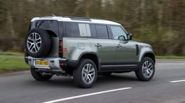 Land Rover Defender 110 - rear 3/4 static cornering