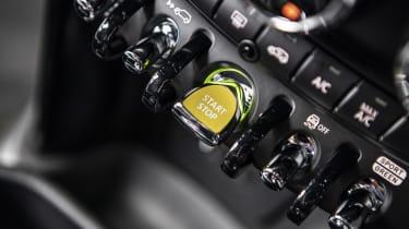 MINI Electric - starter button close-up