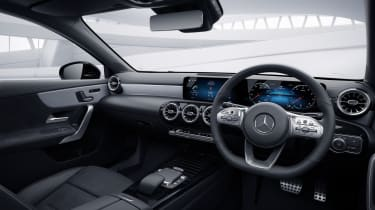 2020 Mercedes A-Class Exclusive Edition and Exclusive Edition Plus - interior 3/4 static