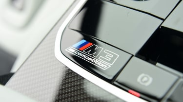 BMW M3 Competition saloon - mode buttons