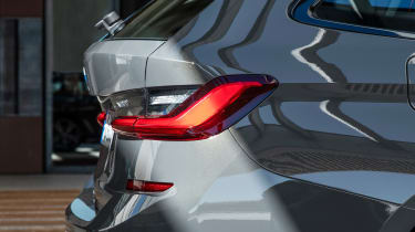 2019 BMW 3 Series Touring - rear tail lights side view