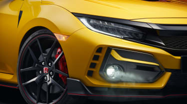 Honda Civic Type R Limited Edition front detail