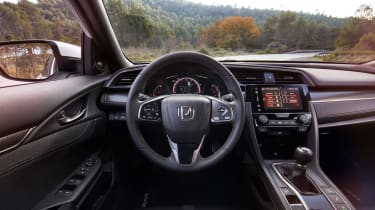 Interior quality is excellent, while the overall design is much improved compared to the old Civic