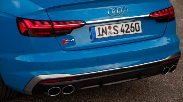 Audi S4 saloon rear lights