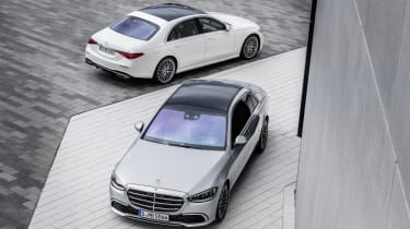2020 Mercedes S-Class - static front and rear