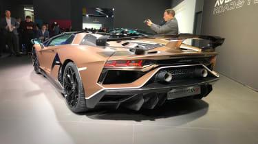 Lamborghini Aventador SVJ 2019 Geneva rear quarter 2