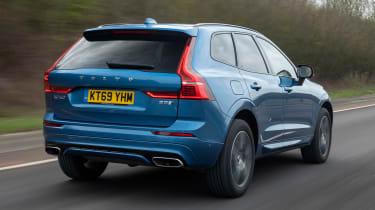 Volvo XC60 SUV rear 3/4 tracking