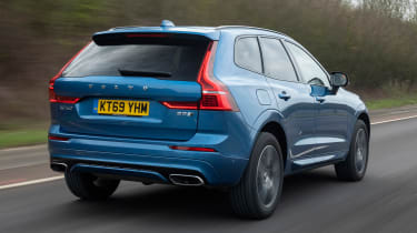 Volvo XC60 SUV rear 3/4 tracking