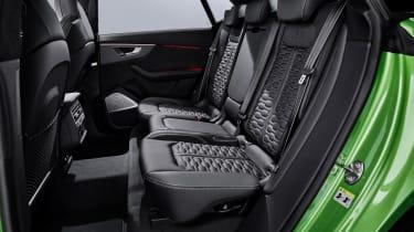Audi RS Q8 rear seats