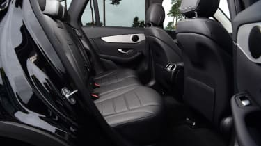 Mercedes GLC SUV rear seats