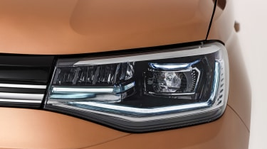Volkswagen Caddy headlight