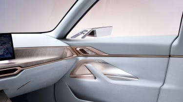 2021 BMW Concept i4 - dashboard and door panel