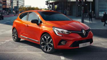 Renault Clio 2019 front quarter