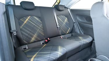The seats themselves are a bit of a Corsa low-point